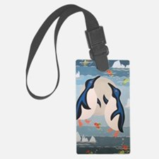 Penguin Pair Luggage Tag