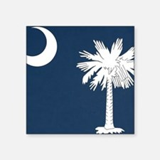 """South_Carolina_state_flag Square Sticker 3"""" x 3"""""""