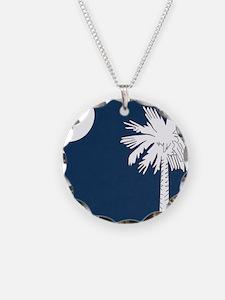 South_Carolina_state_flag Necklace
