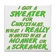sweater-dk Tile Coaster