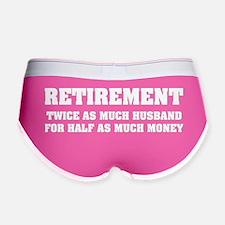 RetirementHusband1B Women's Boy Brief
