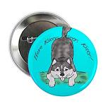 Siberian Husky Nonsense! Button