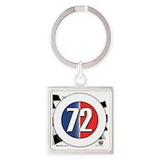 roundlogo72 Square Keychain
