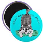Siberian Husky Nonsense! Magnet