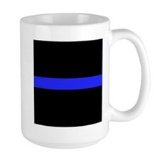 Police Thin Blue Line Mugs