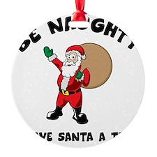 santa1A Ornament