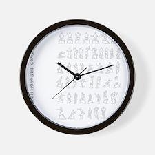 kungfu001 Wall Clock