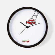 I_Lawnmower_Zombies Wall Clock