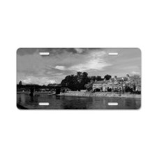 River Ouse Aluminum License Plate