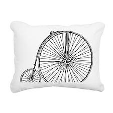 Penny Bike Rectangular Canvas Pillow