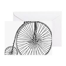 Penny Bike Greeting Card