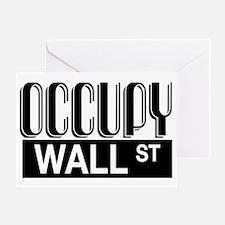 Occupy Wall Street Greeting Card