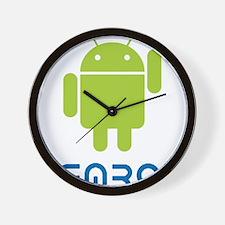 Hemroid Shirt Logo Wall Clock