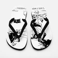 7494_court_cartoon Flip Flops
