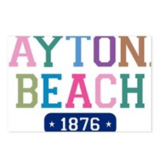 Daytona Beach 1876 W Postcards (Package of 8)