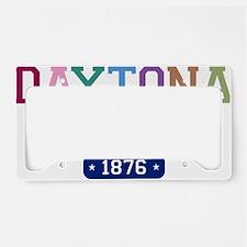 Daytona Beach 1876 W License Plate Holder