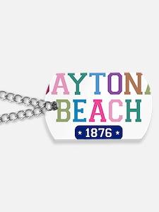 Daytona Beach 1876 W Dog Tags