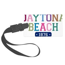 Daytona Beach 1876 W Luggage Tag