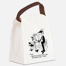 5111_court_cartoon Canvas Lunch Bag