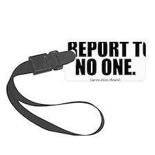i-report_tshirt_b Luggage Tag