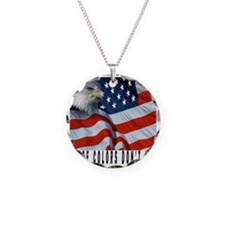 THESE COLORS DON'T RUN Necklace Circle Charm
