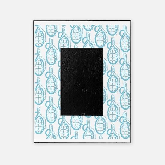 resized blue for flip flops Picture Frame