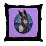 Donkey - Jack Ass Throw Pillow