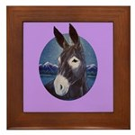 Donkey - Jack Ass Framed Tile