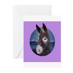 Donkey - Jack Ass Greeting Cards (Pk of 10)