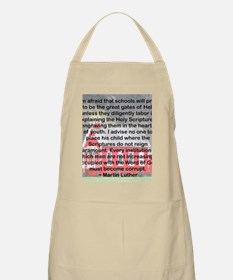 SCHOOLS THE GATES OF HELL Apron
