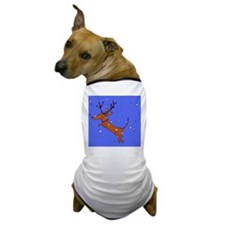 reindeer dachsie Dog T-Shirt