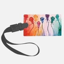 suede pillow healing roses Luggage Tag