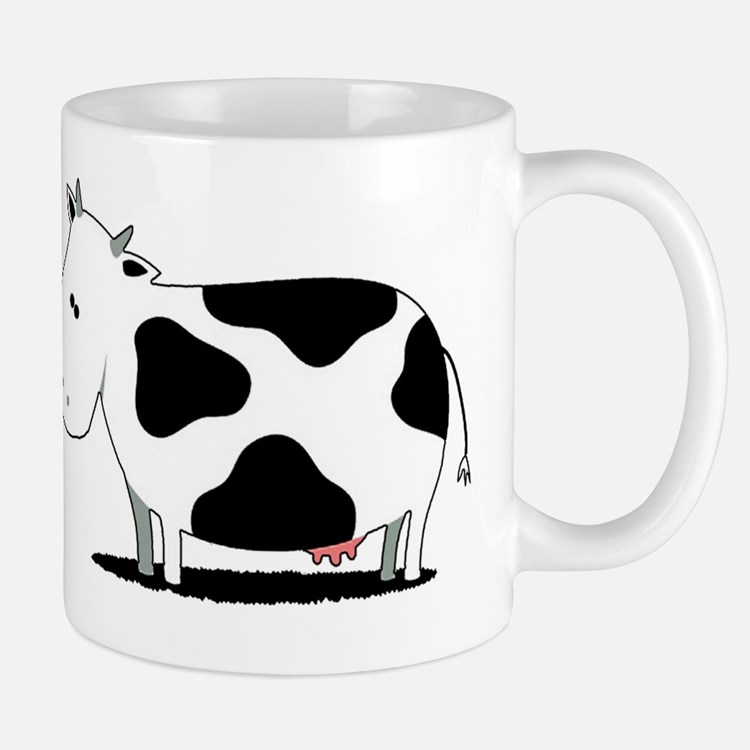 chicken and cow egg Mug