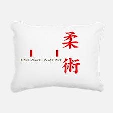 EscapeWht Rectangular Canvas Pillow