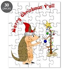 ArmadilloChristmascard_horizontal copy Puzzle