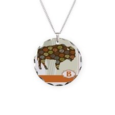 B is for Bison Necklace