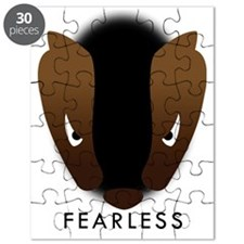 Honey Badger Fearless Puzzle