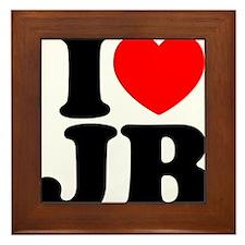 I Love Jam Bands Framed Tile