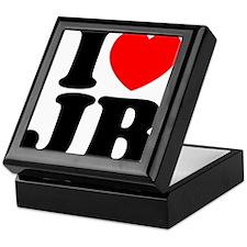 I Love Jam Bands Keepsake Box