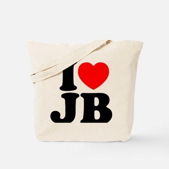 I Love Jam Bands Tote Bag