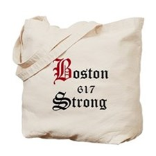 Boston 617 Strong Tote Bag