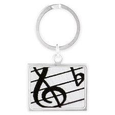 trebel clef Landscape Keychain
