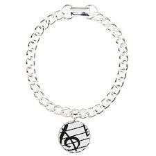 trebel clef Charm Bracelet, One Charm