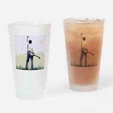 guitar wall Drinking Glass