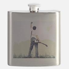 guitar wall Flask