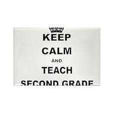 KEEP CALM AND TEACH SECOND GRADE Magnets