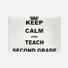 KEEP CALM AND TEACH SECOND GRADE Magnets