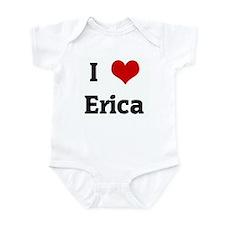 I Love Erica Infant Bodysuit