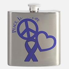 Blue, Hope Flask