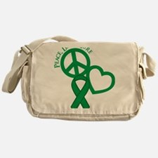 Green, Cure Messenger Bag
